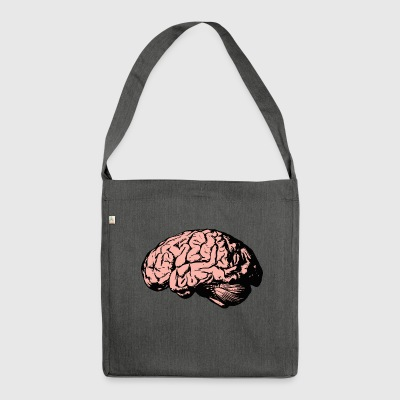 brain - Shoulder Bag made from recycled material