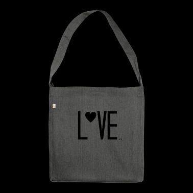 Lettering - Shoulder Bag made from recycled material