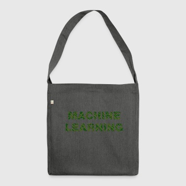 machine learnig - Shoulder Bag made from recycled material
