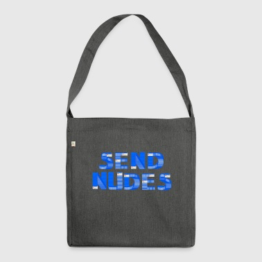 Send Nudes Windows - Schultertasche aus Recycling-Material