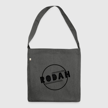 RODAH Black - Shoulder Bag made from recycled material