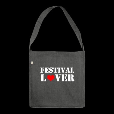 Festival - Schultertasche aus Recycling-Material