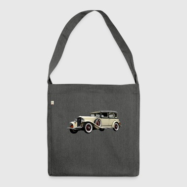 Auto Classiker - Schultertasche aus Recycling-Material