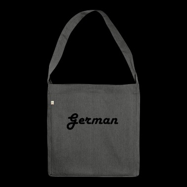 German - Shoulder Bag made from recycled material