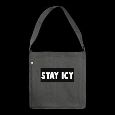 Iceber Slogan - Schultertasche aus Recycling-Material
