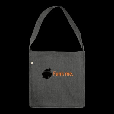 Funk Me. Disco ball - Shoulder Bag made from recycled material