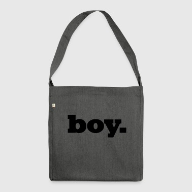 Boy / boy / men / teen - Shoulder Bag made from recycled material