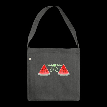 Watermelon watermelon - Shoulder Bag made from recycled material