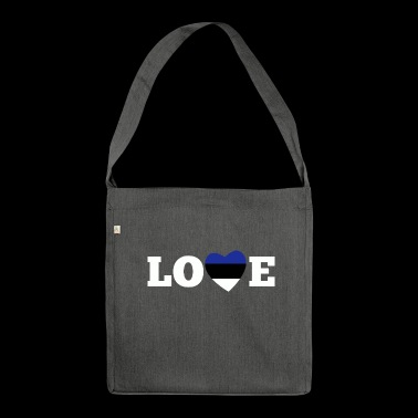 Love Estonia - Shoulder Bag made from recycled material