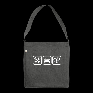Engine Mechanic - Shoulder Bag made from recycled material
