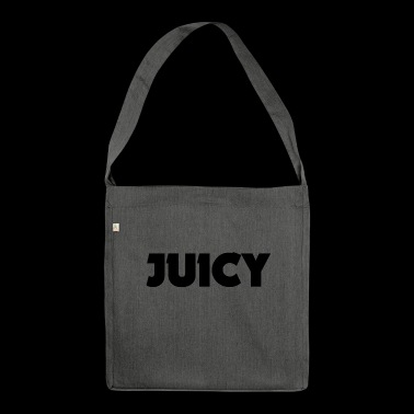 JUICY script - Shoulder Bag made from recycled material