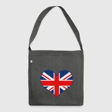 I LOVE UK - Shoulder Bag made from recycled material