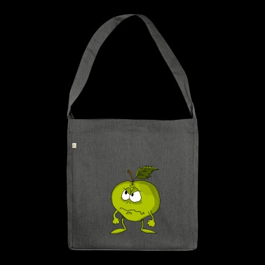 Sour apple - Shoulder Bag made from recycled material