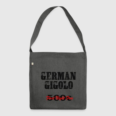 Men's T-Shirt Gigolo by doodo - Shoulder Bag made from recycled material
