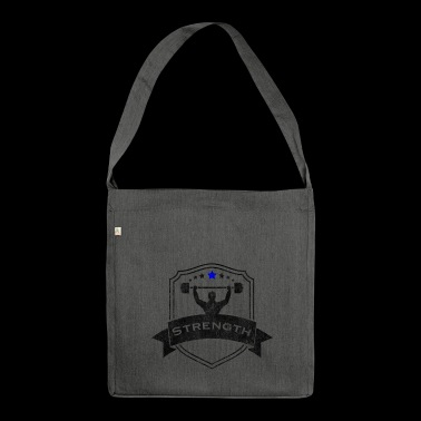 Sports sports - Shoulder Bag made from recycled material