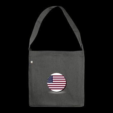 United States flag - Borsa in materiale riciclato