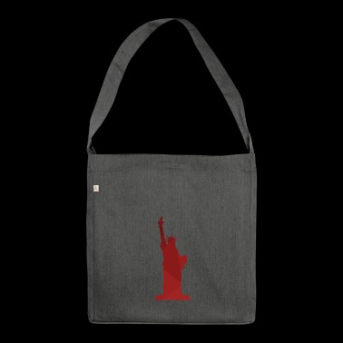 Statue of Liberty - Shoulder Bag made from recycled material