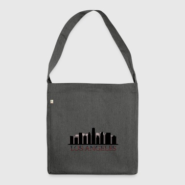 Los Angeles skyline - Shoulder Bag made from recycled material