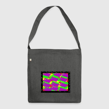 pixel design - Shoulder Bag made from recycled material