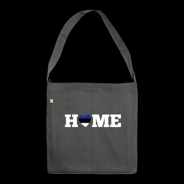 Home Estonia - Shoulder Bag made from recycled material