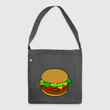 hamburger - Shoulder Bag made from recycled material