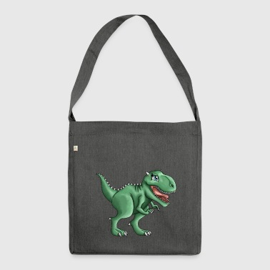 T-rex Rusty - Shoulder Bag made from recycled material