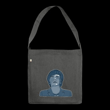 Angela Merkel - Shoulder Bag made from recycled material