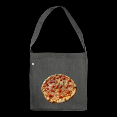 pizza pizzeria food food restaurant54 - Shoulder Bag made from recycled material
