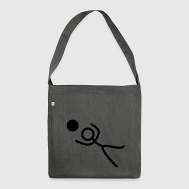 Stickman goalie - Shoulder Bag made from recycled material