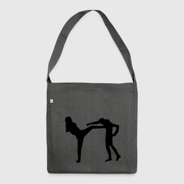 karate martial arts thai boxing ninja kickboxing43 - Shoulder Bag made from recycled material
