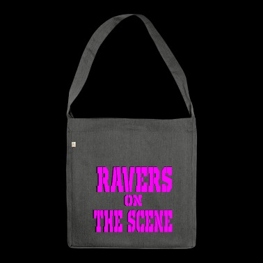 ravers on the scene - Shoulder Bag made from recycled material