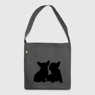 Frenchie - Borsa in materiale riciclato