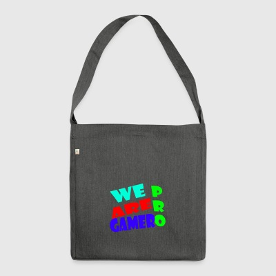 WE ARE PRO GAMER - Schultertasche aus Recycling-Material
