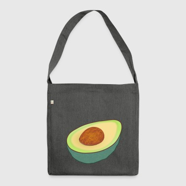 Guacamole Avocado - Shoulder Bag made from recycled material