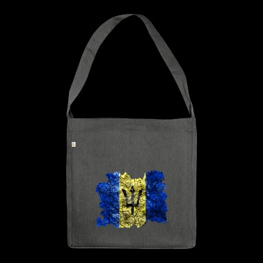 Barbados vintage flag - Shoulder Bag made from recycled material
