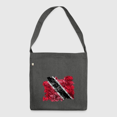 Trinidad and Tobago vintage flag - Shoulder Bag made from recycled material