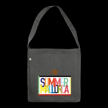 Summer Mallorca - Summer holidays Balearic Islands - Shoulder Bag made from recycled material