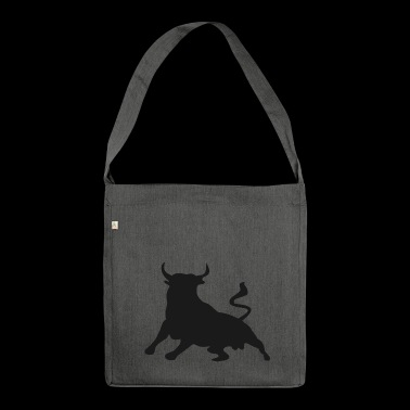 Bull / bull - Shoulder Bag made from recycled material
