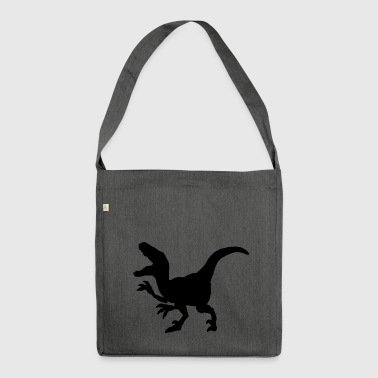 Dinosaur Raptor claws - Shoulder Bag made from recycled material