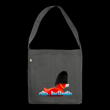 Pool, Britannia! - Schultertasche aus Recycling-Material