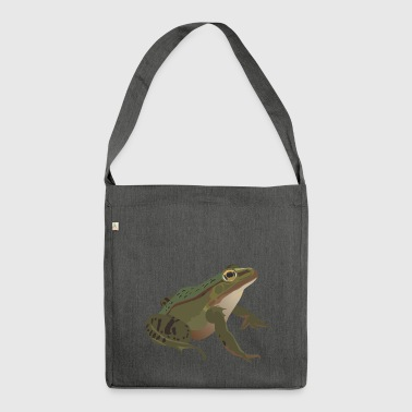 Frog mister frog toad common toad tree frog idea - Shoulder Bag made from recycled material