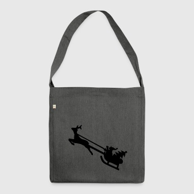 CHRISTMAS MERRY CHRISTMAS T-SHIRT - Shoulder Bag made from recycled material