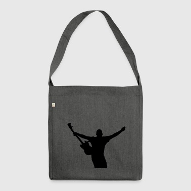 Guitarist - Shoulder Bag made from recycled material