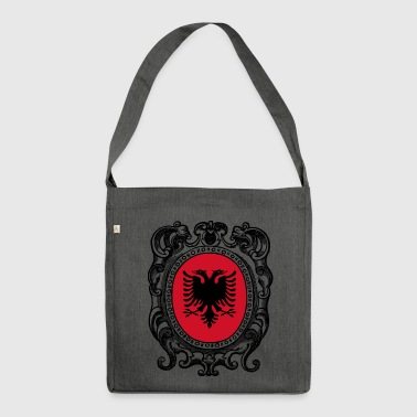 Albania Shqipëri Albania flag - Shoulder Bag made from recycled material