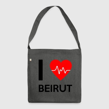 I Love Beirut - I love Beirut - Shoulder Bag made from recycled material