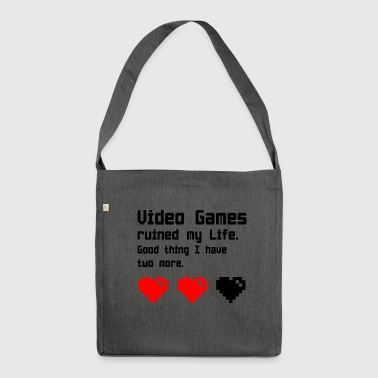 video Games - Shoulder Bag made from recycled material