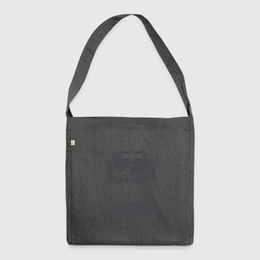 king Moustache - Shoulder Bag made from recycled material