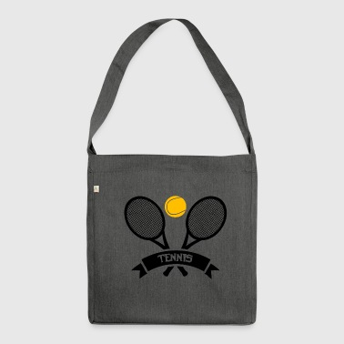 Tennis! - Shoulder Bag made from recycled material