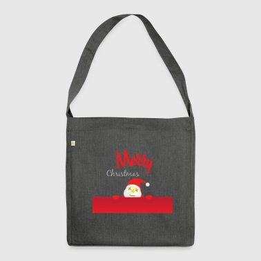 MERRY CHRISTMAS - MERRY CHRISTMAS - Shoulder Bag made from recycled material
