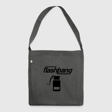 Flash Bang log - 25kr Donation - Skuldertaske af recycling-material
